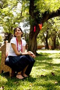 Sabrina Arini: paixão pelas palavras.