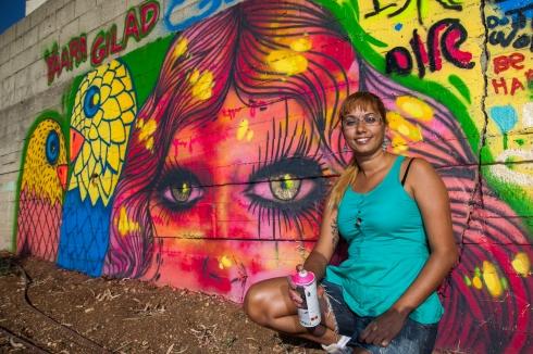 Mural at Park Hamessila, Jerusalém, Israel. Crédito: Divulgação.